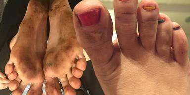 Miley Cyrus: Dreckige Füße auf Instagram