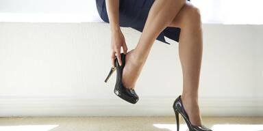 Warum High Heels Ihren Waden schaden