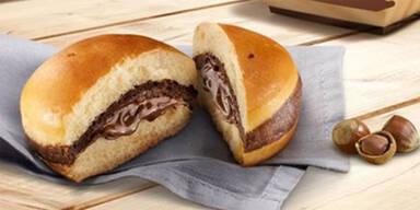 McDonald's führt den Nutella-Burger ein