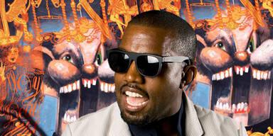 Kanye West schockt mit Schal-Kreationen
