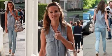 Pippa Middelton im Jeans-Look