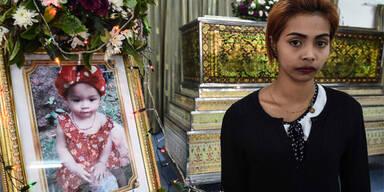 Thailand Vater erhängt Baby Facebook Live Stream