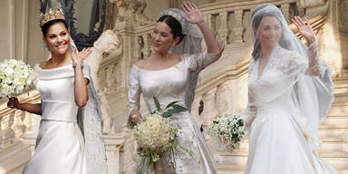Royale Hochzeitskleider