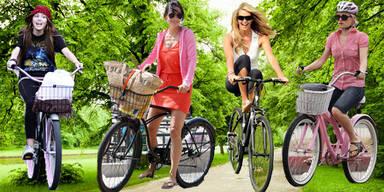 Stars auf dem Bike