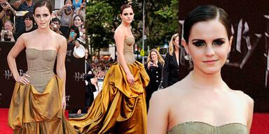 Emma Watson bei der NY Premiere von Harry Potter