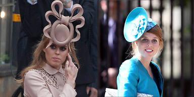 Prinzessin Beatrice mit neuem Look