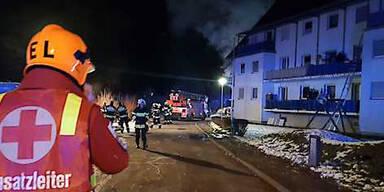 Mehrparteienwohnhaus wegen Brandes evakuiert