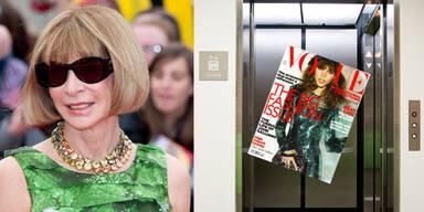 Vogue Gossip aus dem Aufzug