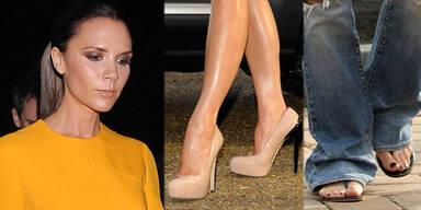 Heels-Verbot für Victoria Beckham
