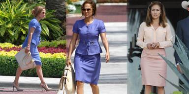 J.Lo ganz bieder & hochgeschlossen