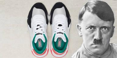 Generador ingresos Humano  Irre Vorwürfe: Puma-Schuhe sollen aussehen wie Hitler