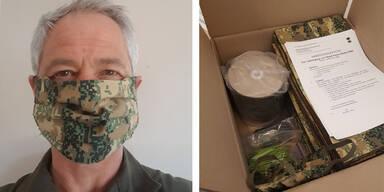 Michael Bauer Bundesheer Masken Mundschutz Schutzmasken Corona