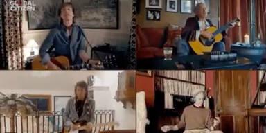 Corona-Aid: Mega-Konzert aus dem Wohnzimmer