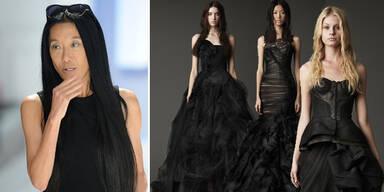 Schwarze Brautkleider von Vera Wang
