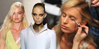 Die Schönheitsmakel der Models