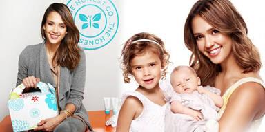 Jessica Alba designt Öko-Babyprodukte