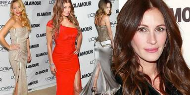 Die Glamour Women of the Year Gala 2010 in New York: Kate Hudson, Fergie, Hilary Swank, Julia Roberts