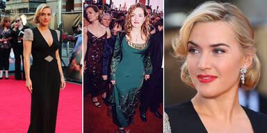 Kate Winslets Red Carpet-Style 15 Jahre später