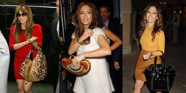 Die vielen Handtaschen der Jennifer Lopez