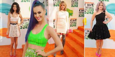 Die Looks der Kids Choice Awards 2012