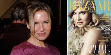 Renée Zellweger mit neuem Gesicht