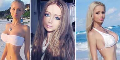 Die lebende Barbiepuppe