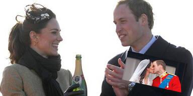 Heute feiern William & Kate ihr erstes Jahr