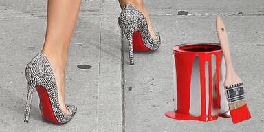 Fashionistas pinseln jetzt Kult-Schuhe