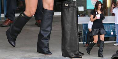 Kim Kardashian verliebt in ihre Givenchys