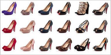 Frauen besitzen durchschnittlich 34 Paar Schuhe