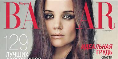 Kritik für Katie Holmes' Cover-Foto