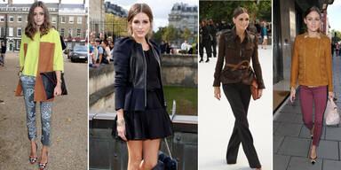 Olivia Palermo zeigt trendige Herbst-Looks