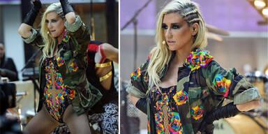 Kesha bastelt sich Outfit aus menschlichen Zähnen