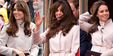 Herzogin Kate über ihren neuen Haarstyle