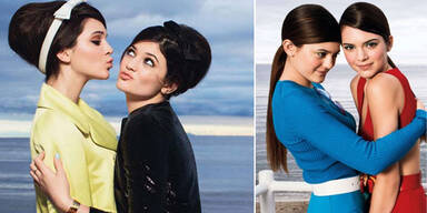 Kendall & Kylie Jenner in der US-Glamour