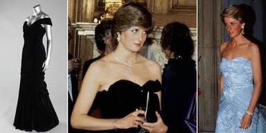 Lady Dianas Kleider werden versteigert