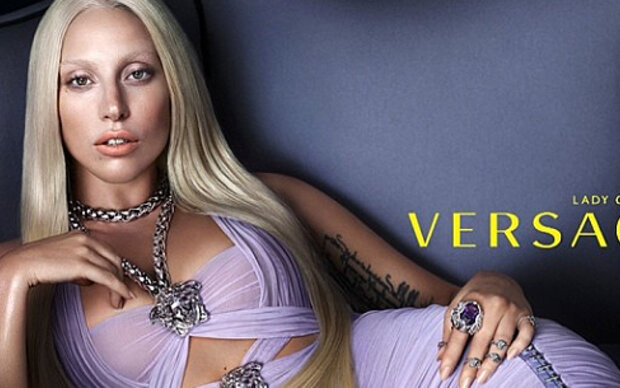 Lady Gaga als Donatella Versace-Double