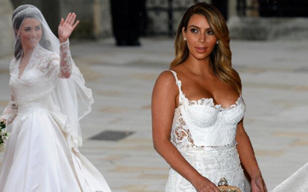Kim will Kates Hochzeitskleid tragen