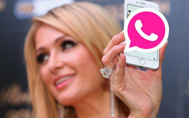 So wird WhatsApp pink!