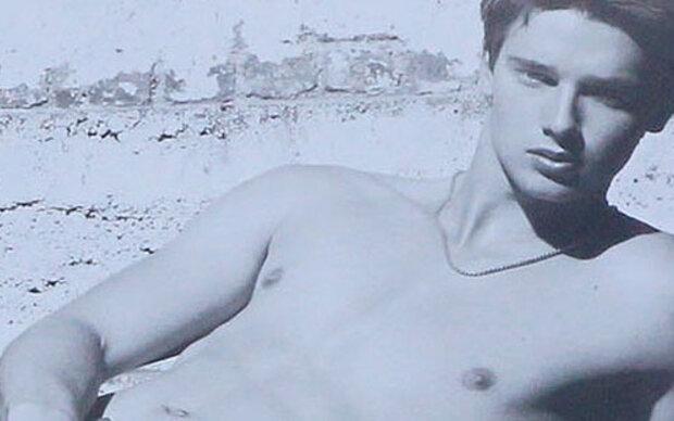 Arnies Sohn modelt