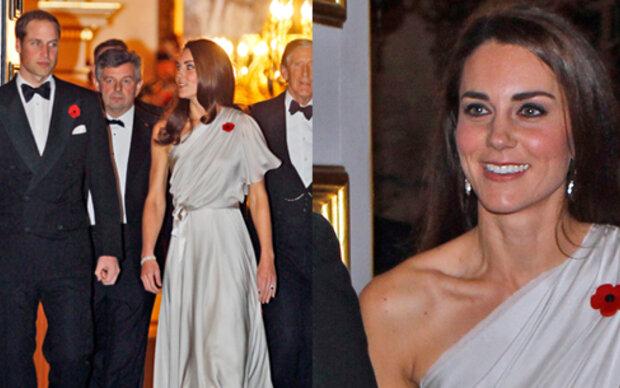 Kate glänzte in Temperley-Kleid