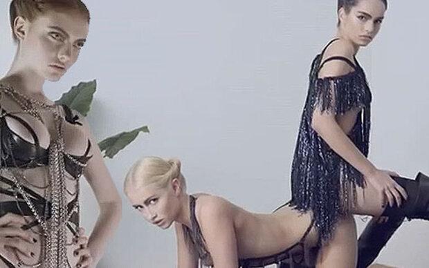 Dessous-Label schockt mit Lesben-Werbung