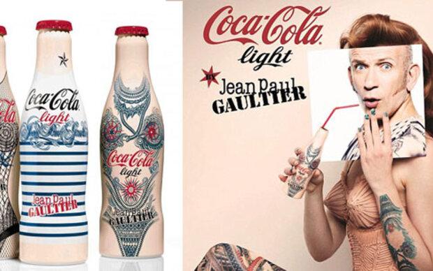 Jean Paul Gaultier designt limitierte Cola-Flaschen