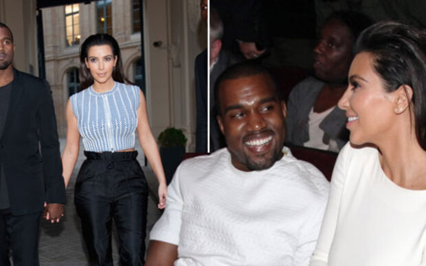 Kim unter Kanyes Styling-Einfluss