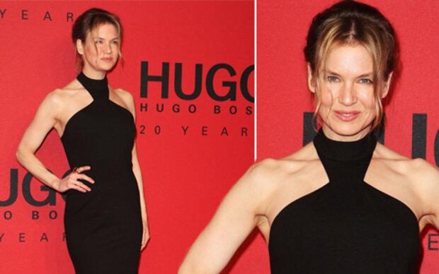 Zellweger abgemagert bei Fashion Week Berlin