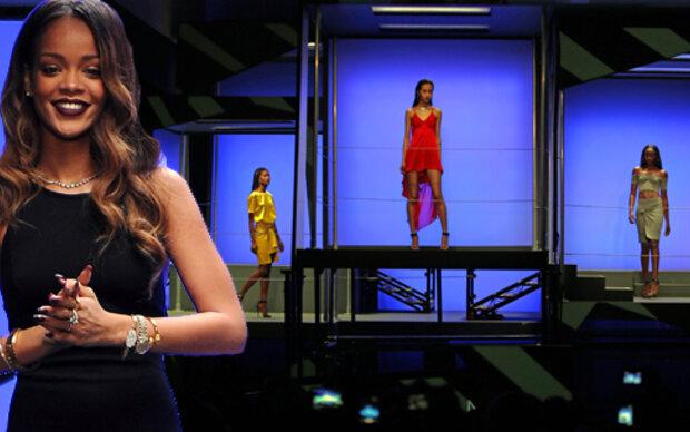 Rihanna bewährt sich bei London Fashion Week