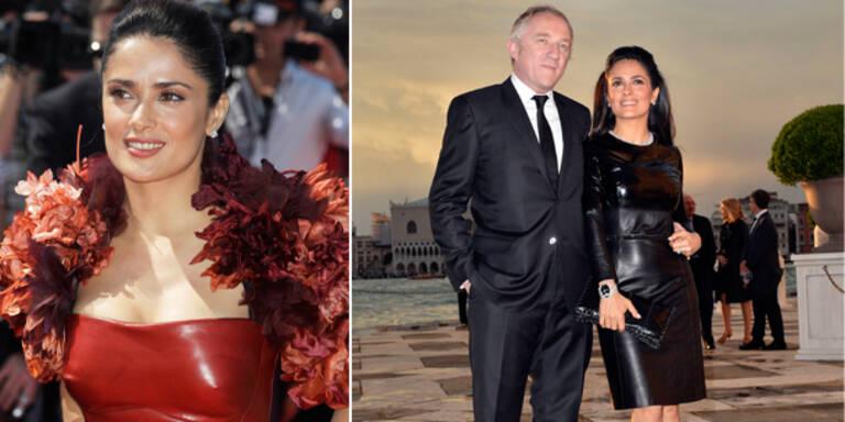 Salma Hayek: 'Mein Mann liebt Leder-Outfits!'