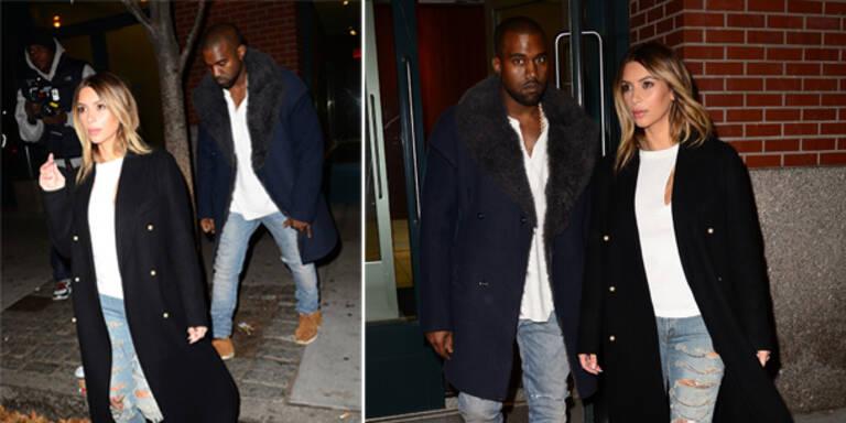 Kim & Kanye im Partner-Look
