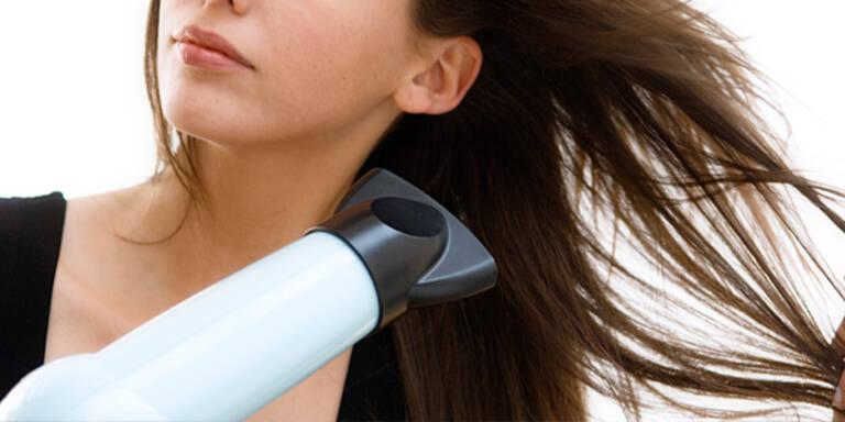 5 Fehler beim Haare Föhnen