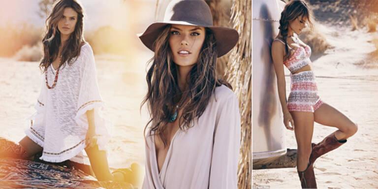 Alessandra Ambrosio launcht 1. Mode-Kollektion